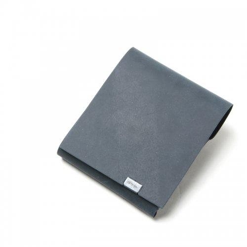 所作 (ショサ) Short Wallet  #Oil Nubuck Black / オイルヌバック ショートウォレット2.0 ブラック