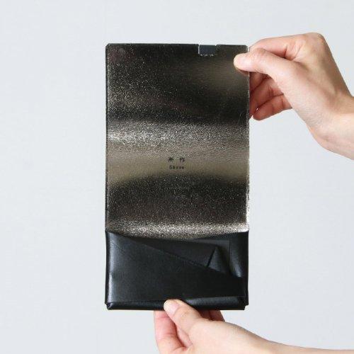 所作 (ショサ) Coin Case #Black×Silver / ブラックシルバー コインケース