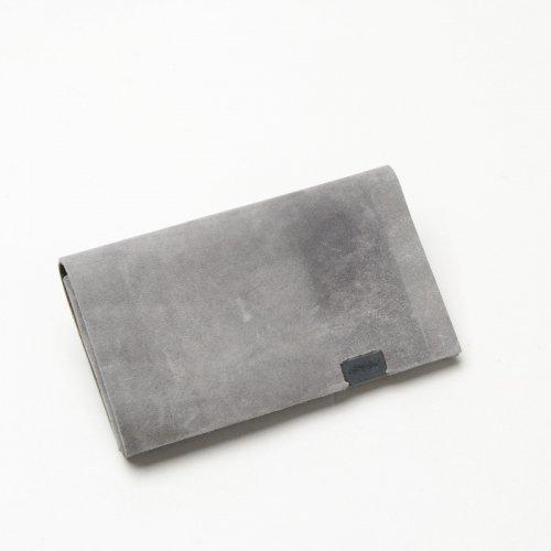 所作 (ショサ) Coin Case #Oil Nubuck Gray / オイルヌバック コインケース グレイ