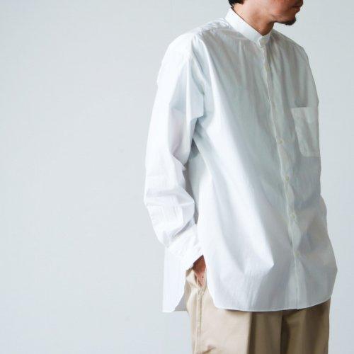 MARKAWARE (マーカウェア) NEW COMFORT FIT BAND COLLAR SHIRT / ニューコンフォートフィットバンドカラーシャツ