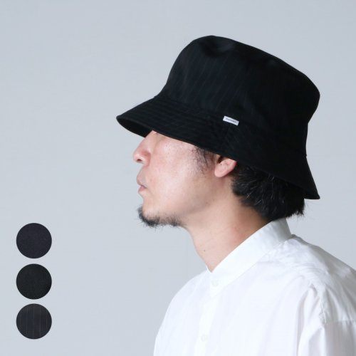 Graphpaper (グラフペーパー) KIJIMA TAKAYUKI for Graphpaper Selvage Wool Bucket hat / キジマタカユキ セルヴィッジウールハット