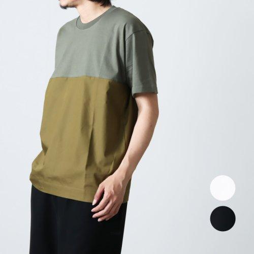 nisica (ニシカ) フロッキープリントTシャツ WELL