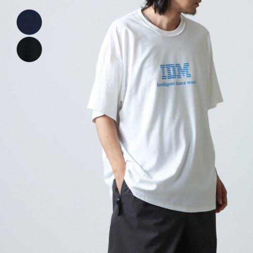 is-ness (イズネス) ISNESS MUSIC BPM T-SHIRT / イズネスミュージック BPM Tシャツ