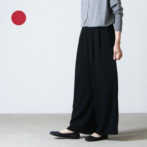 Graphpaper (グラフペーパー) Satin Easy Wide Pants / サテンイージーワイドパンツ