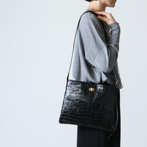 Hender Scheme (エンダースキーマ) twist buckle bag crocodile S / ツイストバックルバッグ クロコダイル S