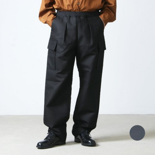 Graphpaper (グラフペーパー) Double Plain Weave Easy Militrary Pants / ダブルプレーンウィーブイージーミリタリーパンツ