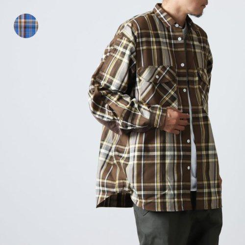 DAIWA PIER39 (ダイワピア39) TECH FLANNEL WORKER'S SHIRTS / テックフランネルワーカーズシャツ