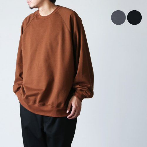 Graphpaper (グラフペーパー) Compact Terry Crew Neck / コンパクトテリークルーネック
