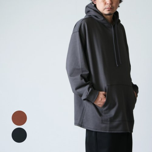Graphpaper (グラフペーパー) Compact Terry Hoodie / コンパクトテリーフーディ—