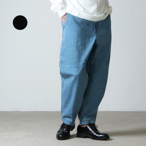 THE NORTH FACE PURPLE LABEL (ザ ノースフェイス パープルレーベル) Webbing Belt Denim Wide Tapered Pants
