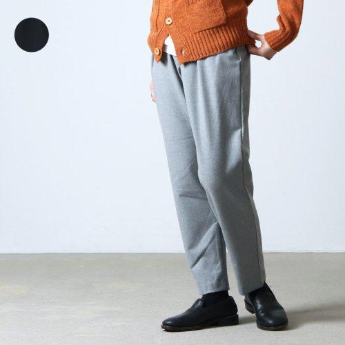 mizuiro ind (ミズイロインド) back pocket high waist stretch PT / バックポケットハイウエストストレッチパンツ