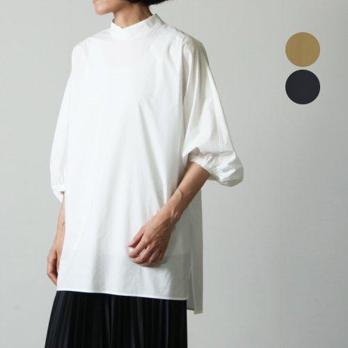 08sircus (ゼロエイトサーカス) Suvin cotton stand collar blouse / スビンコットンスタンドカラーブラウス