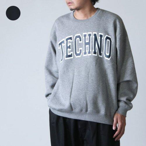 is-ness (イズネス) ISNESS MUSIC TECHNO SWEAT01 / イズネスミュージック テクノスウェット01