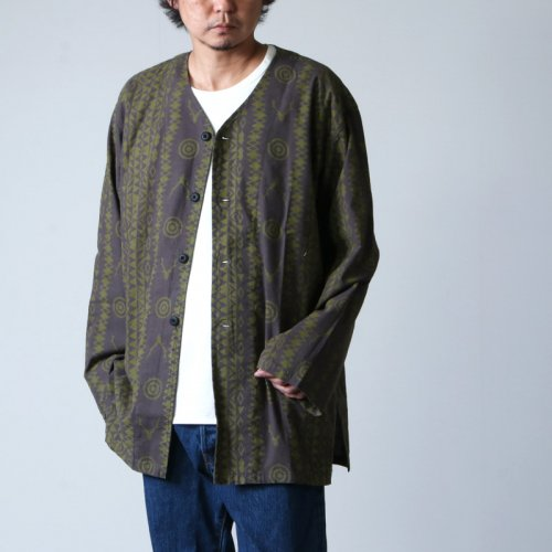 South2 West8 (サウスツーウエストエイト) V Neck Army Shirt - Flannel Pt. / Vネックアーミーシャツ