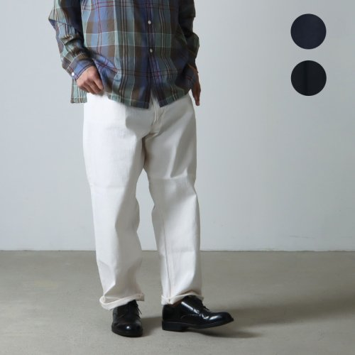 KAPTAIN SUNSHINE (キャプテンサンシャイン) WIDE 5PKT  Trousers / ワイド5ポケットトラウザーズ