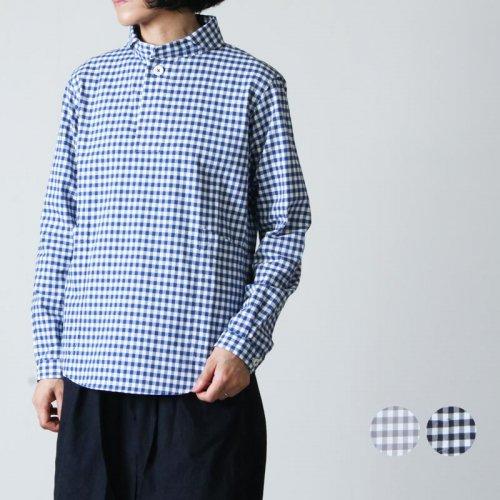 LOLO (ロロ) 定番プルオーバー ギンガムシャツ size:S