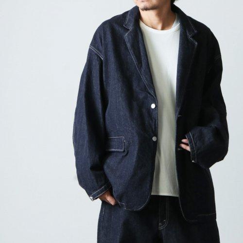 Graphpaper (グラフペーパー) CIOTA for GP Suvin Cotton Denim Jacket / シオタ スビンコットンデニムジャケット