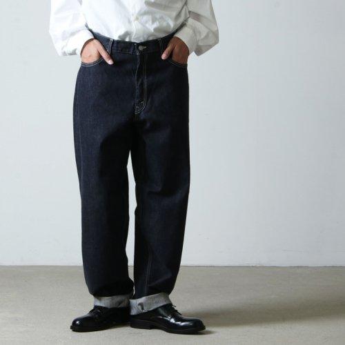 Graphpaper (グラフペーパー) CIOTA for GP Suvin Cotton Denim Pants / シオタ スビンコットンデニムパンツ