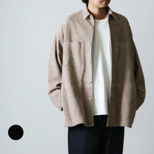 Graphpaper (グラフペーパー) Goat Suede Box Shirt Jacket / ゴートスエードボックスシャツジャケット