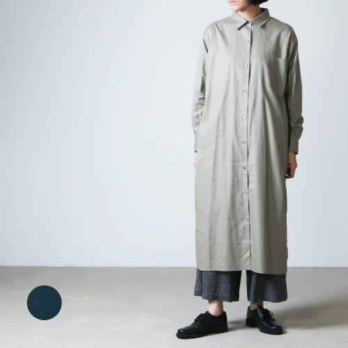 LENO (リノ) OPEN-FRONT DRESS / オープンフロントドレス