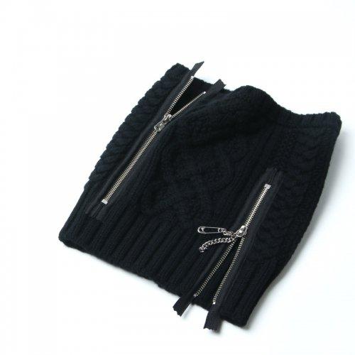TAKAHIROMIYASHITATheSoloist. (タカヒロミヤシタザソロイスト) aran neck warmer / アランネックウォーマー