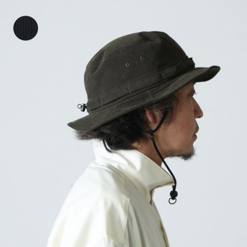 DAIWA PIER39 (ダイワピア39) TECH JUNGLE HAT CORDUROY / テックジャングルハットコーデュロイ
