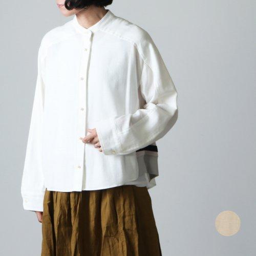 blanc basque (ブランバスク) ビエラウルトラワッシャーパールボタンシャツ