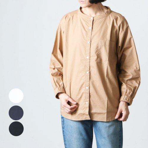 Commencement (コメンスメント) Bandcollar wide shirts / バンドカラーワイドシャツ