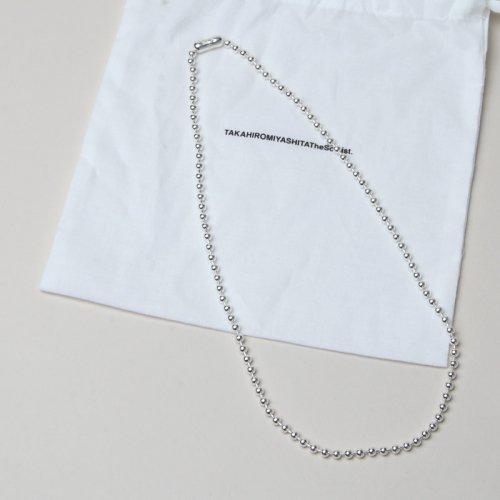 TAKAHIROMIYASHITATheSoloist. (タカヒロミヤシタザソロイスト) ball chain necklace S regular