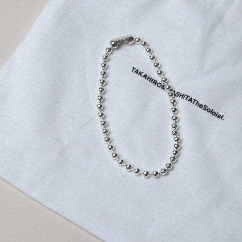 TAKAHIROMIYASHITATheSoloist. (タカヒロミヤシタザソロイスト) ball chain bracelet. S regular