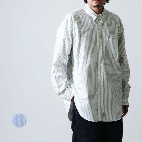 SEDAN ALL-PURPOSE (セダンオールパーパス) Oxford Stripe Big BD Shirt / オックスフォードストライプビッグボタンダウンシャツ