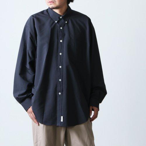 SEDAN ALL-PURPOSE (セダンオールパーパス) Polyester Big BD Shirt / ポリエステルビッグボタンダウンシャツ