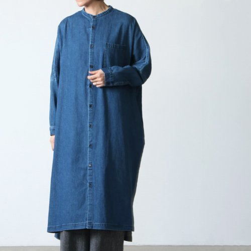Ordinary Fits (オーディナリーフィッツ) STAND COLLAR  WORK ONEPIECE / スタンドカラーワークワンピース