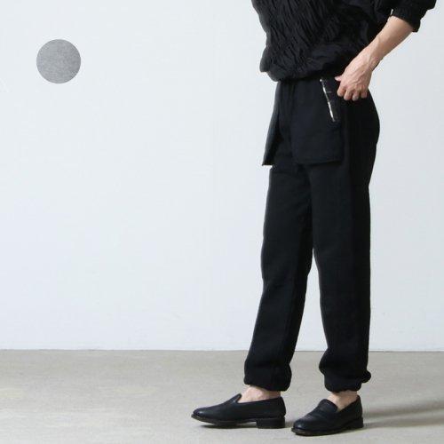 unfil (アンフィル) vintage cotton-fleece truck pants / ヴィンテージコットンフリーストラックパンツ