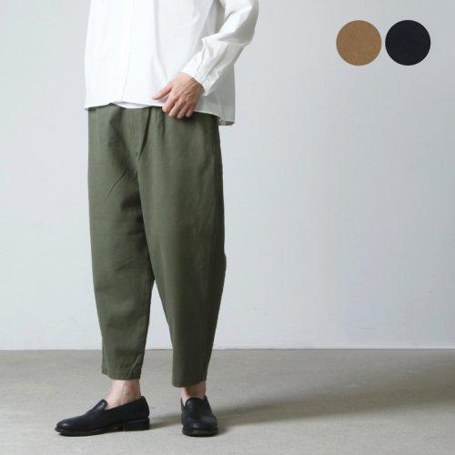 style + confort (スティールエコンフォール) クラシックドリル起毛 テーパードパンツ