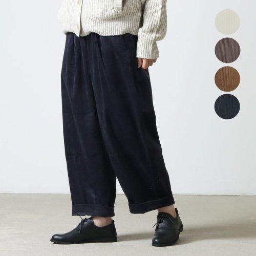 Commencement (コメンスメント) Corduroy wide pants / コーデュロイワイドパンツ