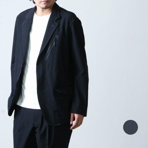 and wander (アンドワンダー) plain tailored stretch jacket / プレーンテーラードストレッチジャケット