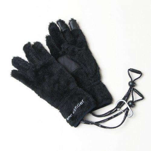 and wander (アンドワンダー) high loft fleece glove / ハイロフトフリースグローブ