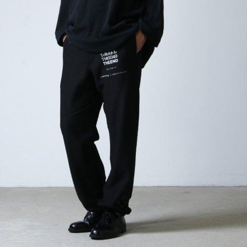 TAKAHIROMIYASHITATheSoloist. (タカヒロミヤシタザソロイスト) geometric morse code jogger pant