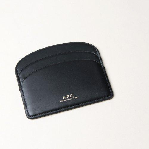 A.P.C (アーペーセー) PORTE-CARTES DEMI-LUNE Noir / カードケース
