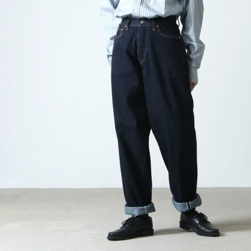 LENO (リノ) LOOSE TAPERED JEANS