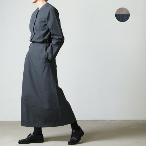 THE HINOKI (ザ ヒノキ) OG Cotton Poplin Set Up Dress