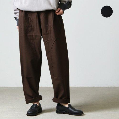 THE HINOKI (ザ ヒノキ) OG Cotton Wool 4Tuck Elastic Pants