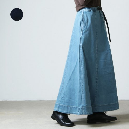 GRAMICCI (グラミチ) DENIM MERMAID SKIRT / デニム マーメイド スカート