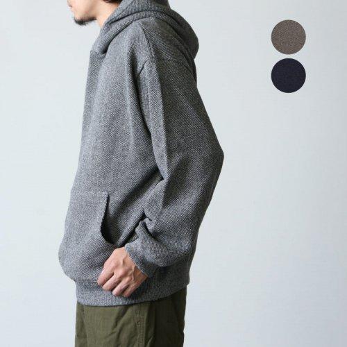 crepuscule (クレプスキュール) Moss stitch hoodie / モススティッチフーディ メンズサイズ