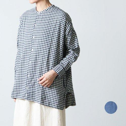 jujudhau (ズーズーダウ) STAND COLLAR SHIRTS / スタンドカラーシャツ