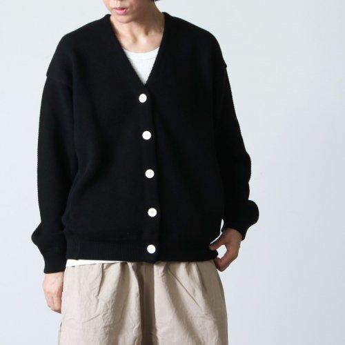 crepuscule (クレプスキュール) Moss stitch V/N cardigan for COTYLE / コチレ別注モススティッチVネックカーディガン