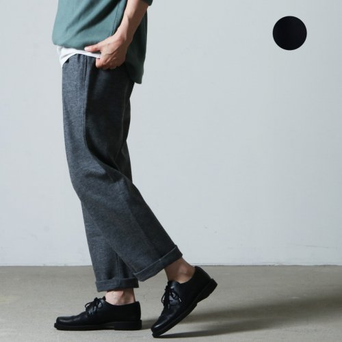 style + confort (スティールエコンフォール) 圧縮スムースワイドパンツ