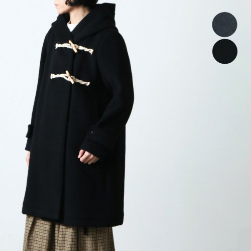 mizuiro ind (ミズイロインド) A line duffle coat / エーラインダッフルコート
