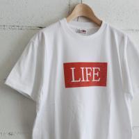 EEL LIFE TEE col:11ホワイト、15杢グレー、16杢チャコール
